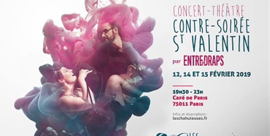 14/02 Concert-théâtre par ENTRE LES DRAPS - Jeudi 14 Février 2019 - Les Chahuteuses