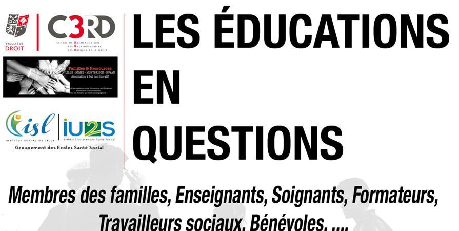 LES ÉDUCATIONS EN QUESTIONS - FAMILLES ET RESSOURCES