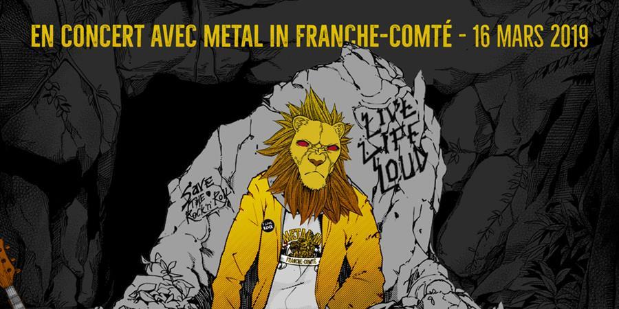 Sticky Boys, Iron Bastards et Full Throttle Baby - Metal in Franche Comté
