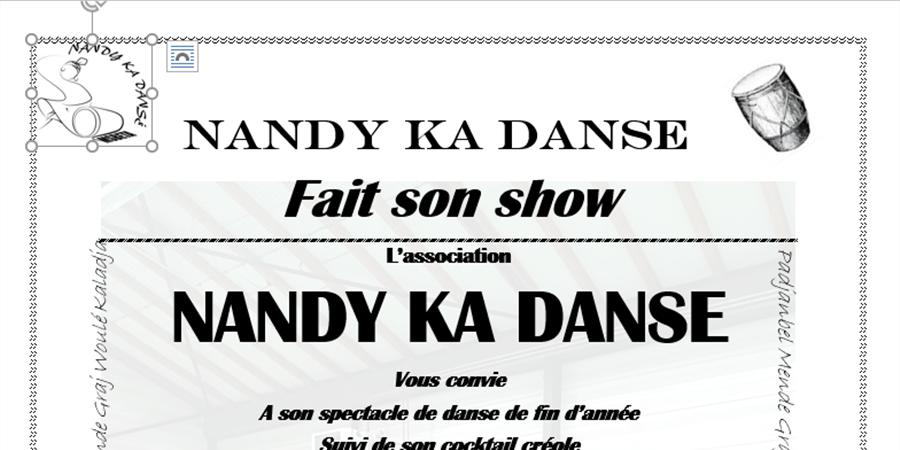Nandy Ka Danse fait son show - nandy ka danse