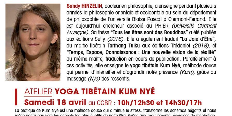 Atelier Yoga Tibétain KUM NYÉ - Centre culturel bouddhique de Rennes (CCBR)