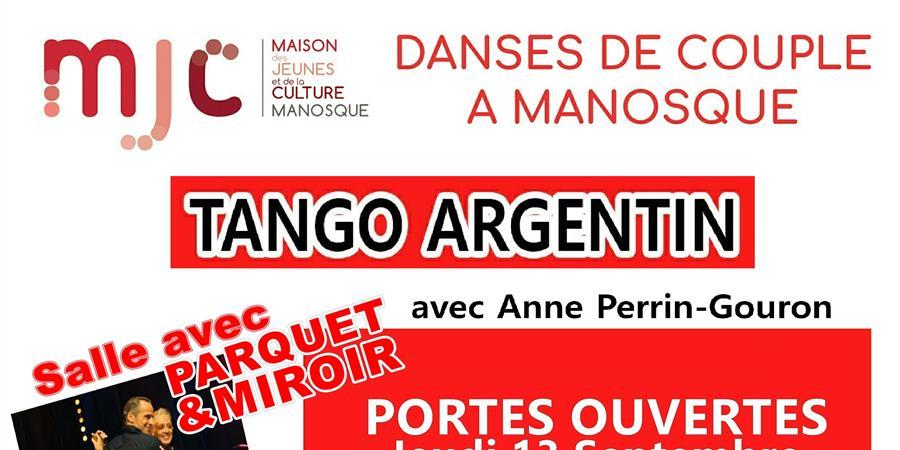 Tango Argentin - 2 cours d'1h30 sur 2 niveaux - Association AccroBal