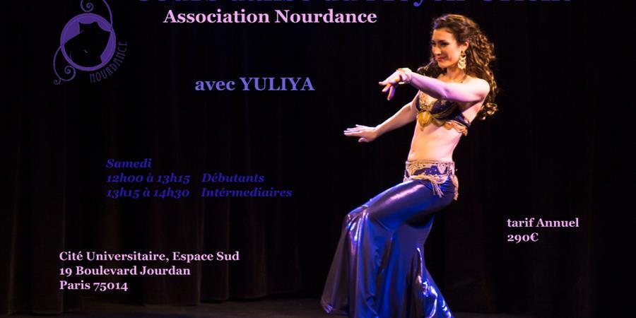 Cours Danse de moyen-Orient à Paris 14e - Nourdance Compagnie/Association