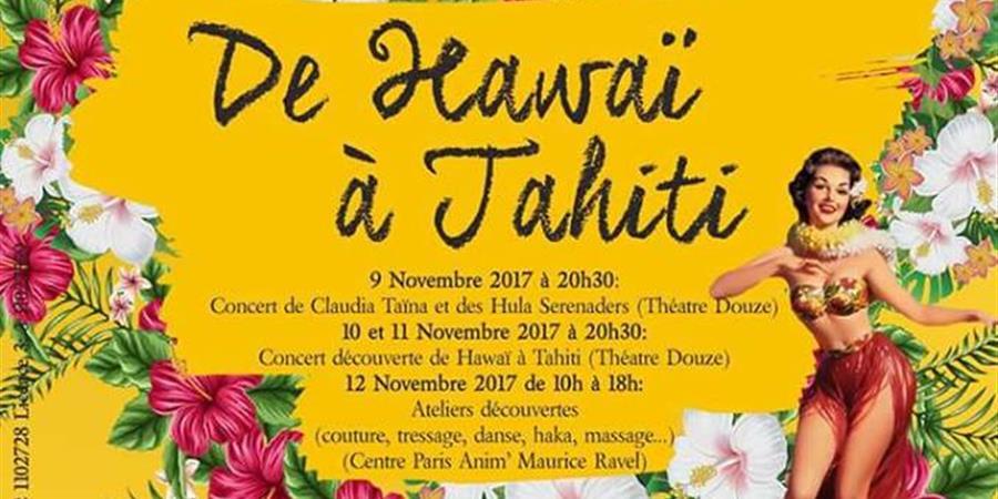 Concert découverte de Hawai à Tahiti - Samedi 11 novembre - Mana Loa