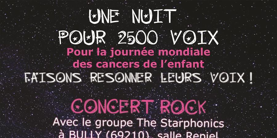 CONCERT ROCK - THE STARPHONICS - Aidons Marina