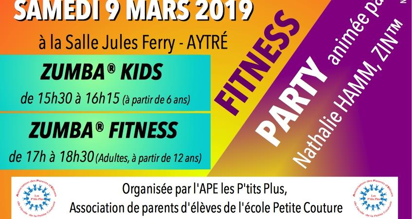 "FITNESS PARTY : ZUMBA® Kids / ZUMBA® Fitness - APE ""Les P'tits Plus"""
