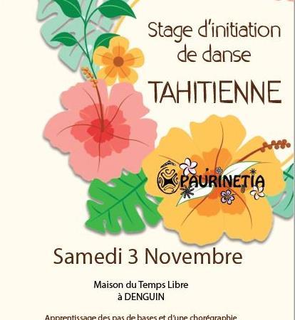 STAGE DE DANSE TAHITIENNE - O PAU'RINETIA