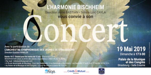 Concert annuel de l'Harmonie Bischheim - Société de musique Harmonie Bischheim