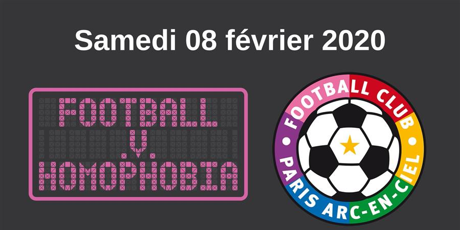 Tournoi Football V Homophobia 2020 - FC Paris Arc-En-Ciel