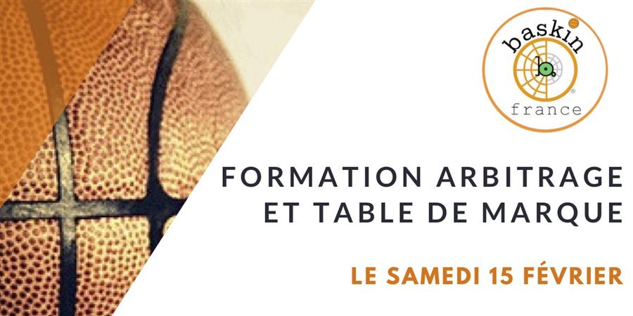 Formation Arbitrage et Table de marque Baskin  - Baskin France