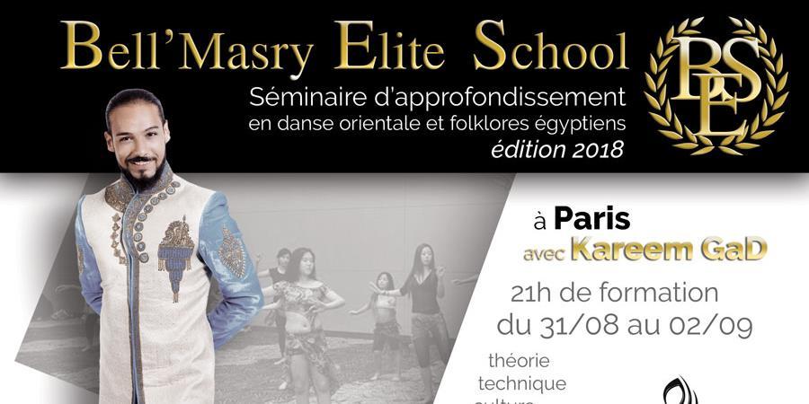 BES - Séminaire d'approfondissement en danse orientale et folklores égyptiens  - BellMasry