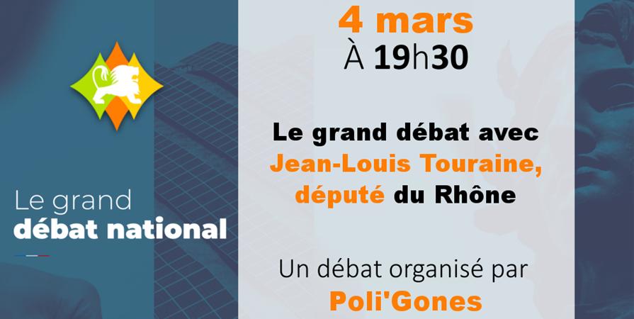 Café-débat n°43 : Débat avec Jean-Louis Touraine, député - Poli'Gones