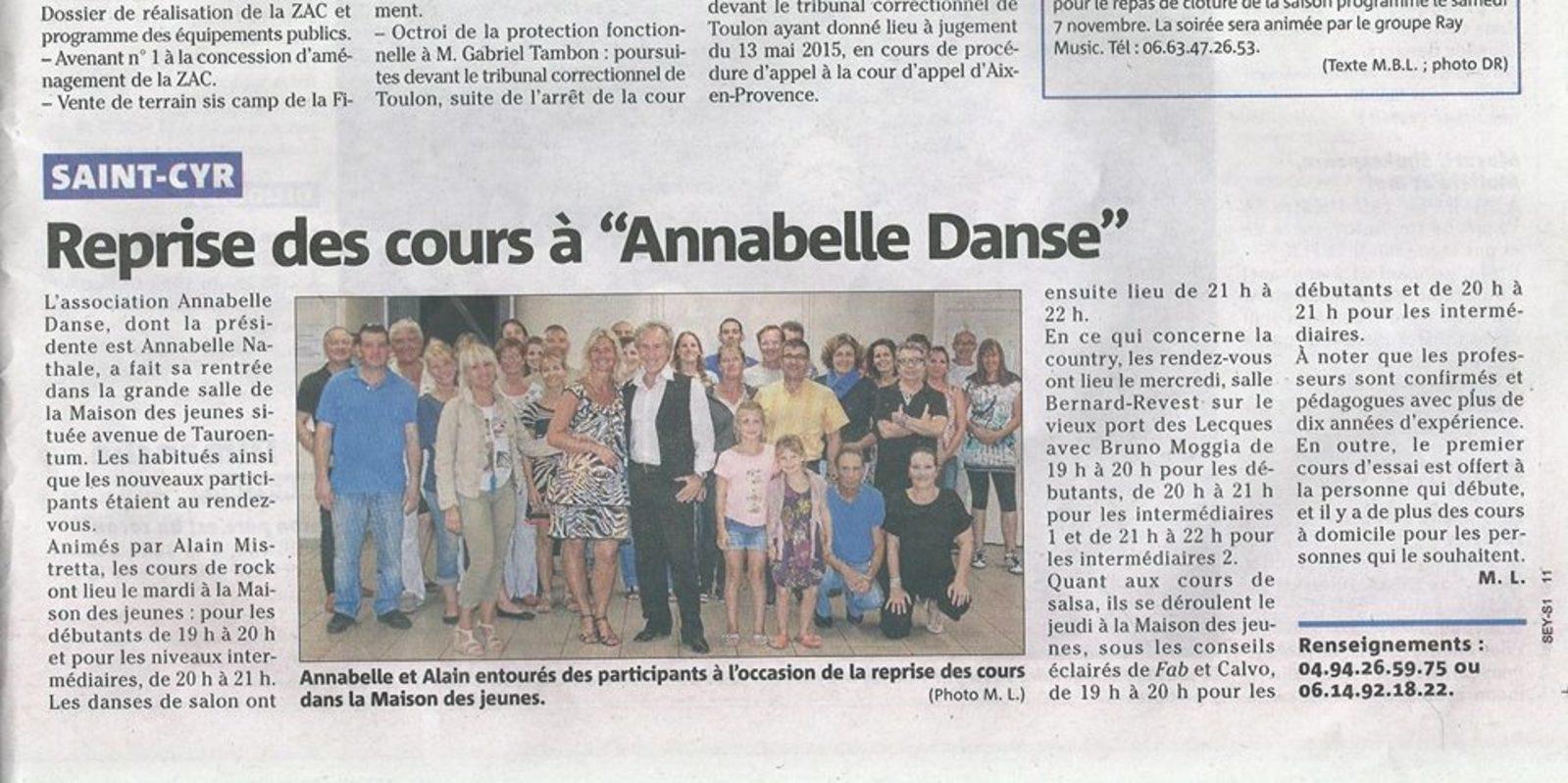 ANNABELLE DANSES - association annabelle danses