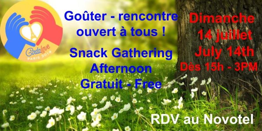 Goûter rencontre - Snack Gathering - CodaFrance