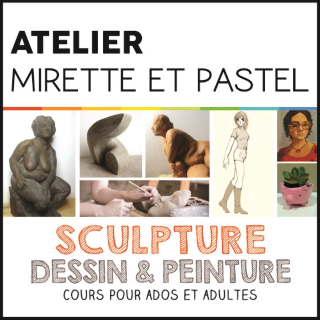Cours Dessin Peinture / Sculpture Modelage - Association Mirette et Pastel
