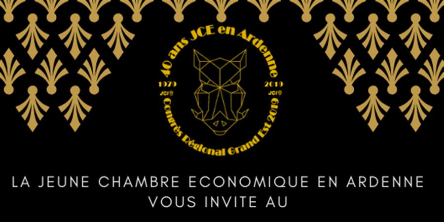 Formations et animations - Congrès régional Grand-Est 2019 - Jeune Chambre Economique en Ardenne