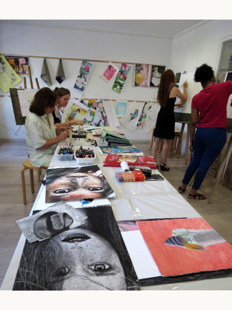 Arts Plastiques - Association L'Atelier Indigo