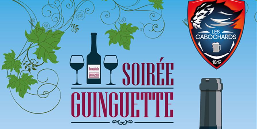 Soirée Guinguettes - Les Cabochards