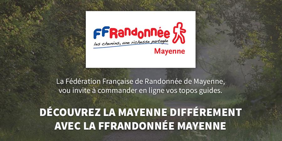 Ventes de Topos Guides - FFRandonnée Mayenne - FFRandonnée Mayenne