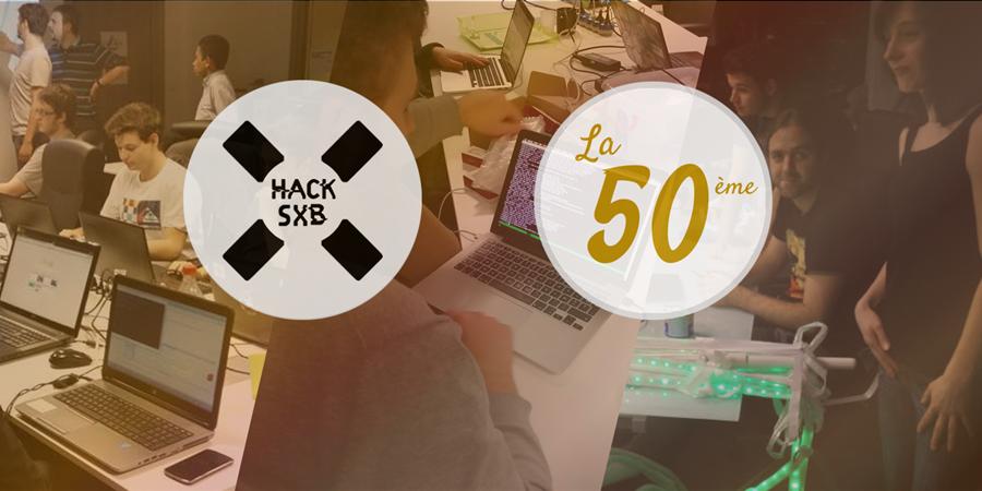 HackSXB #50: La 50ème ! - Alsace Digitale
