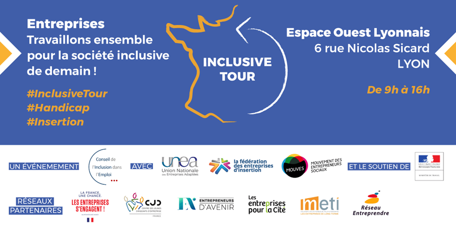 Inclusive Tour à Lyon - Union Nationale des Entreprises Adaptées