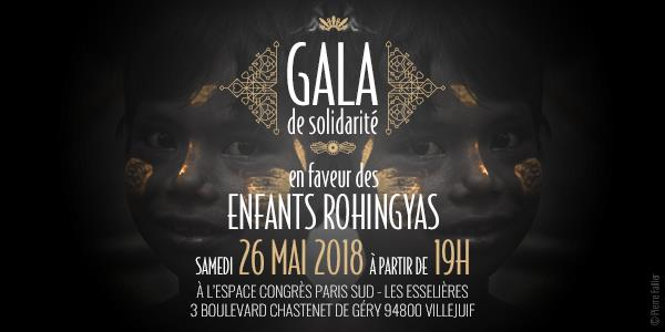 Gala de solidarité en faveur des enfants Rohingyas - Secours Islamique France