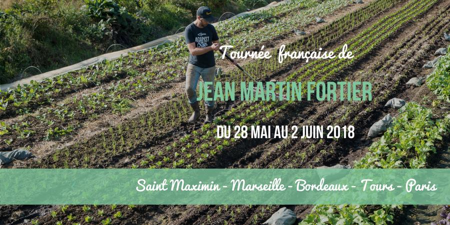 Conférence de Jean-Martin Fortier à Bordeaux  - Fermes d'Avenir