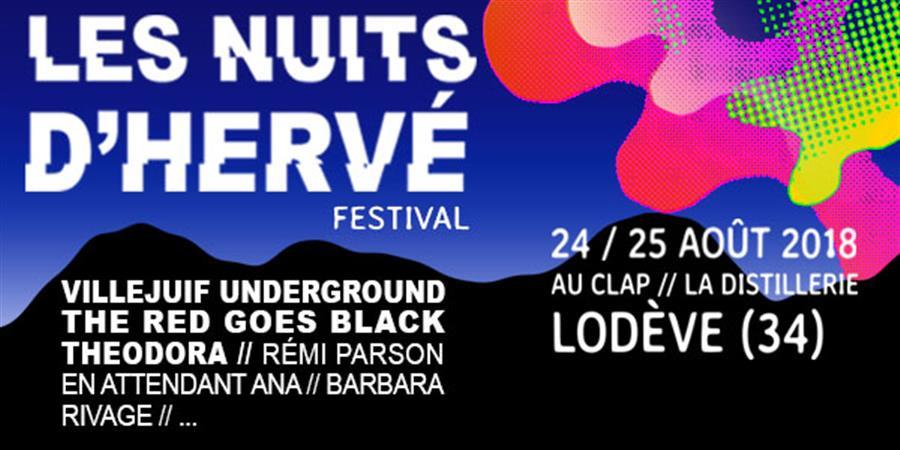"""FESTIVAL """" LES NUITS D'HERVÉ """" - Hervé Productions"""
