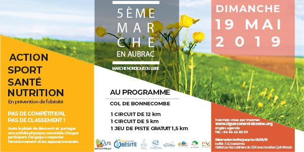 La Marche en Aubrac 2019 - Ligue Contre l'Obésité