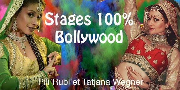 Stages Bollywood avec Pili Rubi et Tatjana Wegner à Saint Vincent de Tyrosse - Sacré Sourire