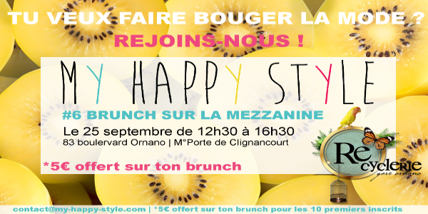 BRUNCH SUR LA MEZZANINE #6 - My Happy Style