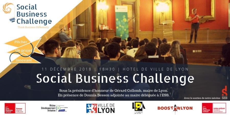 Social Business Challenge 2018 - NOISE emlyon