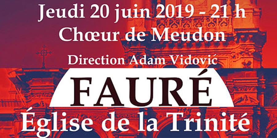 Concert à l'Eglise de la Trinité  (Paris) - Choeur de Meudon