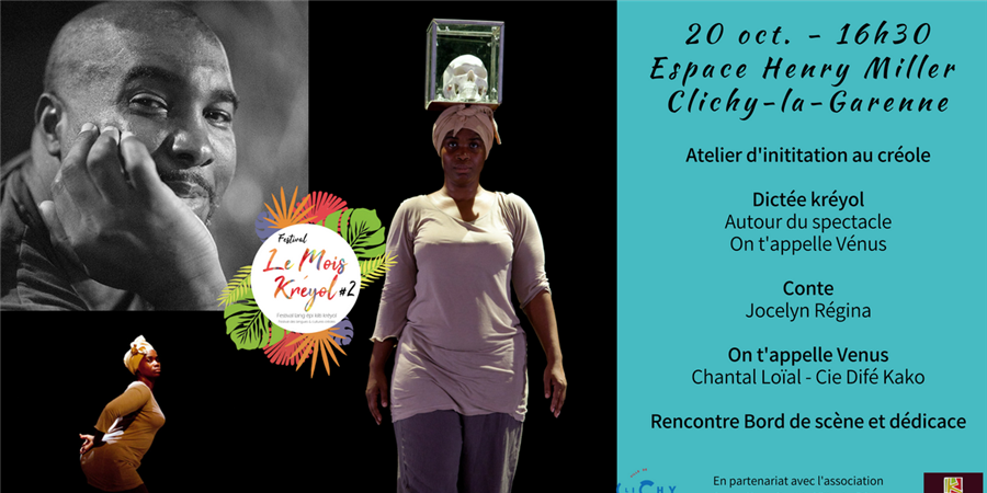 Cie Difé Kako (Danse), Jocelyn Régina (conte) | Festival Le Mois Kreyol - Difé Kako