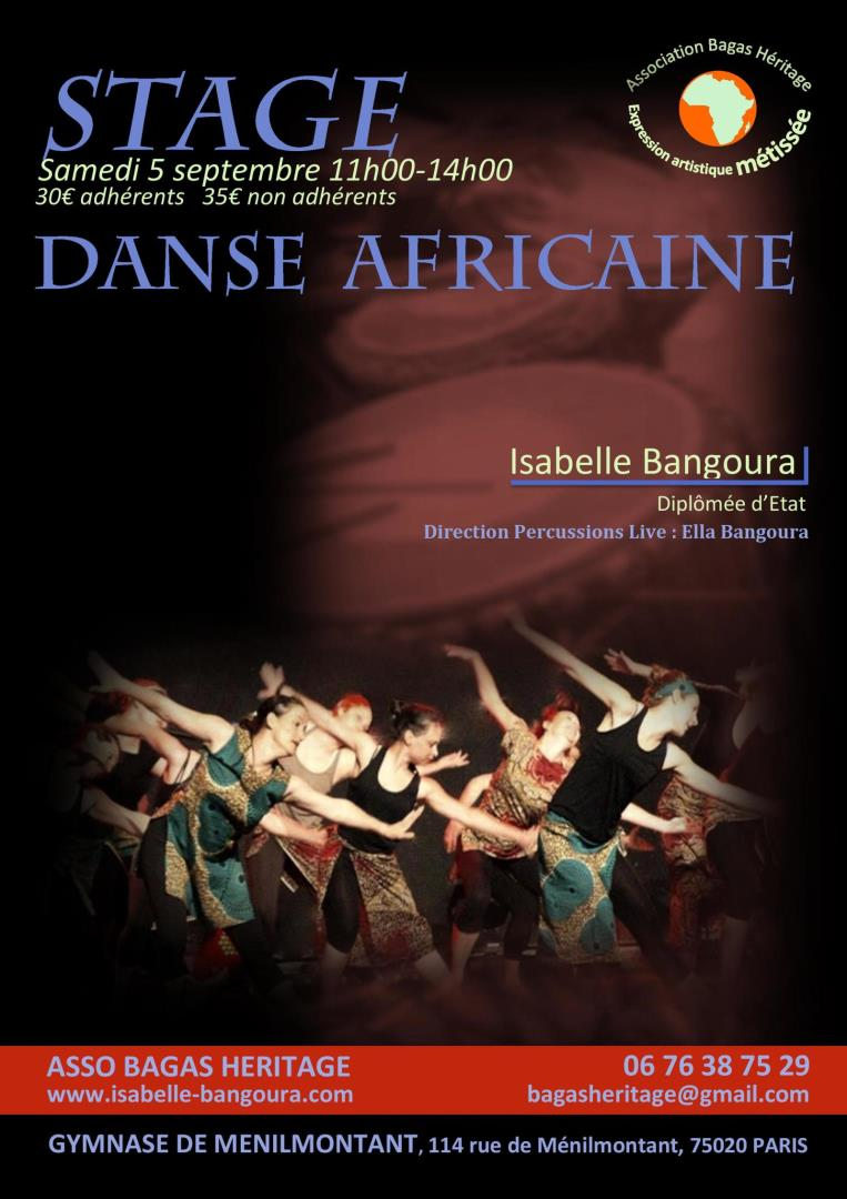 Danse Africaine - Association Bagas Héritage