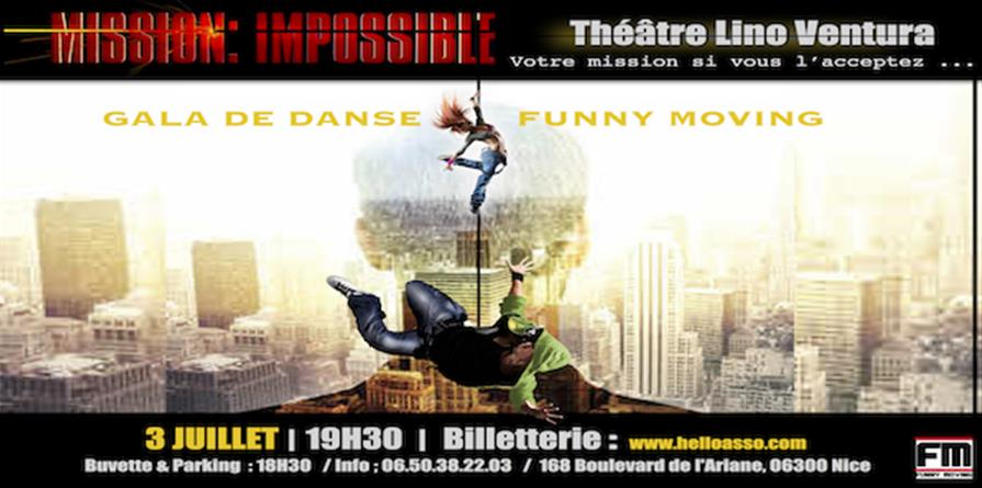"""""""Mission Impossible"""" - ASSOCIATION FUNNY MOVING"""