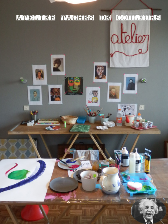 Atelier Créativité - Atelier Tâches de Couleurs