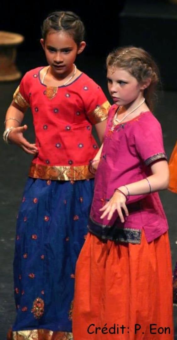 Bollywood enfants - Association Mira-Baï