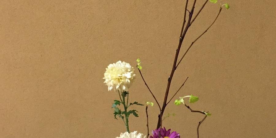 Atelier Ikebana (arrangement floral japonais) - Les Poissons du ciel