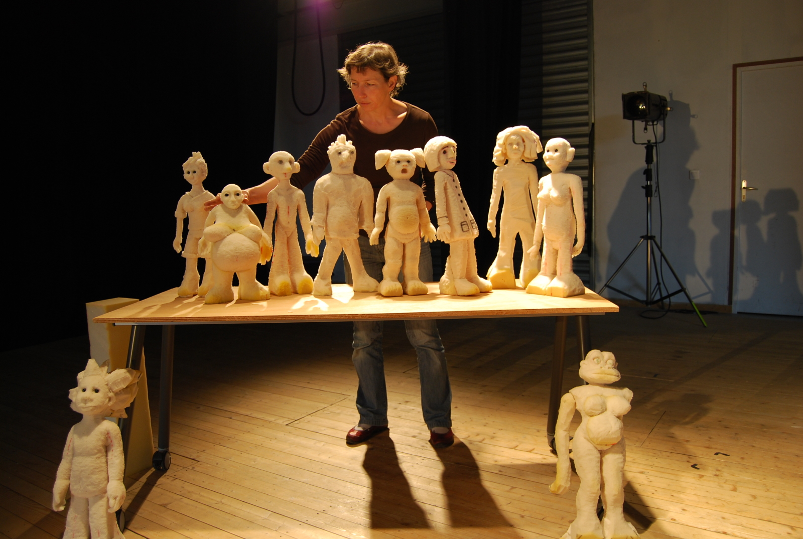 stage : Fabrication et manipulation d'une marionnette en mousse - La Nef - Manufacture d'utopies