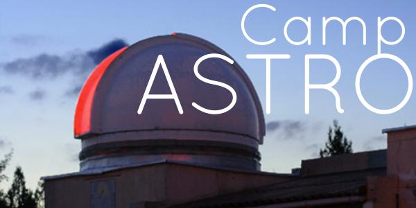 Camp d'astronomie - 16-20 juillet 2018 - Club d'Astronomie de Lyon Ampère