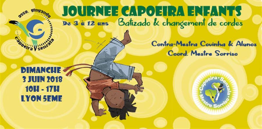 Journée Capoeira Enfants  - Gingando
