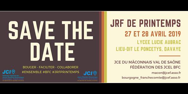 Formations JRF Bourgogne-Franche-Comté 2019 - Jeune Chambre Economique du Maconnais Val de Saône