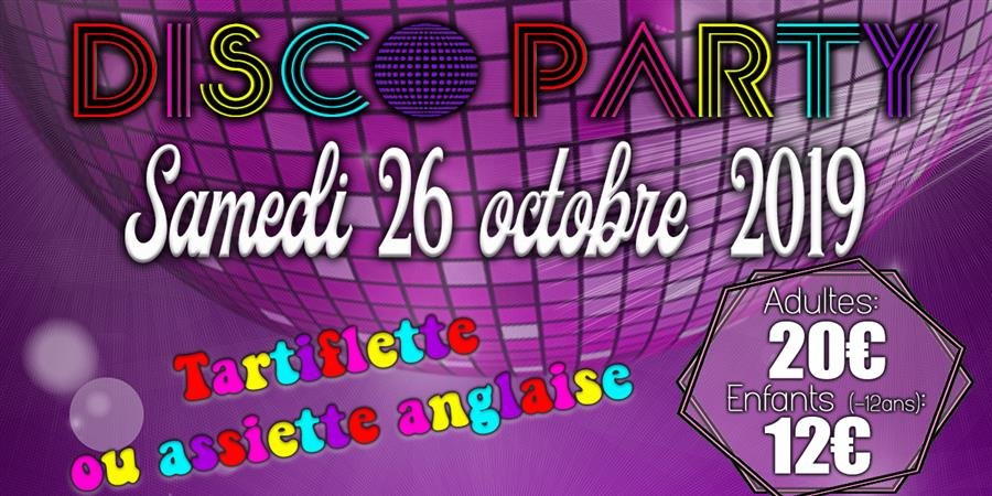Disco party - Les Messagers de l'Espoir