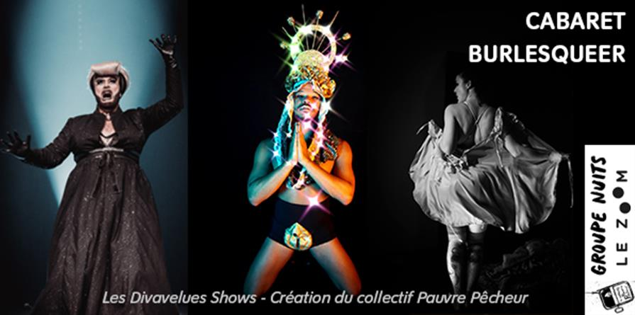 Cabaret Burlesqueer - Vendredi 20 septembre 20h - Le Zoom