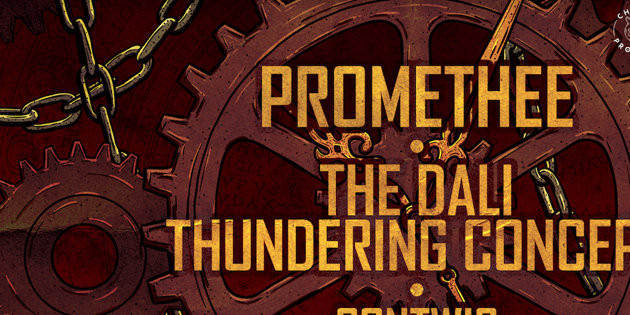 PROMETHEE • THE DALI THUNDERING CONCEPT •CONTWIG - Chaos project