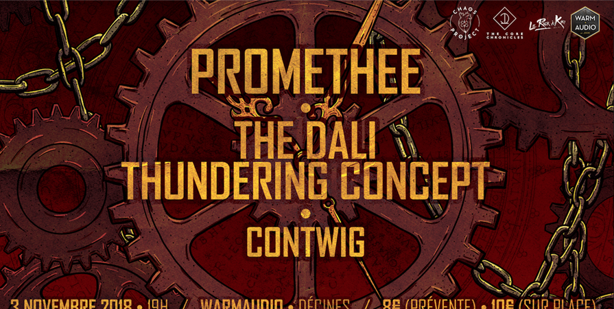 PROMETHEE • THE DALI THUNDERING CONCEPT • CONTWIG - Chaos project