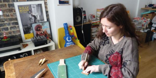 11 à 12h - Création d'un porte clé en cuir - Team Petit Paris