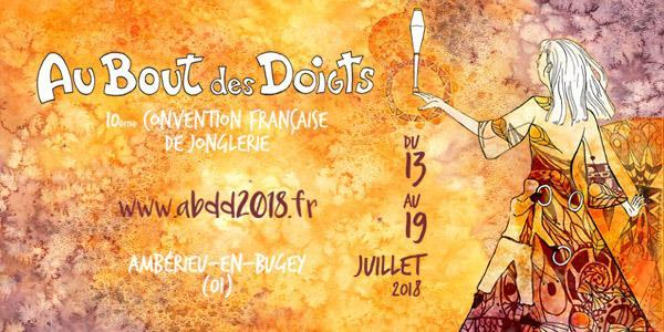 10ème Convention Française de Jonglerie - AU BOUT DES DOIGTS
