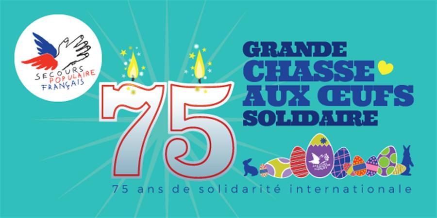 La grande Chasse aux Œufs de Nantes organisée par le Secours populaire français - Secours populaire de la Loire-Atlantique